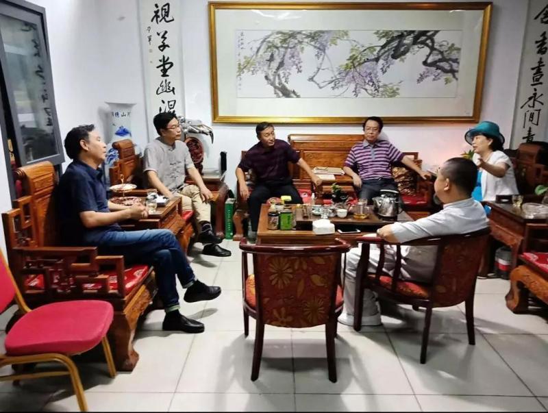 北京大码头有个潘长江画室
