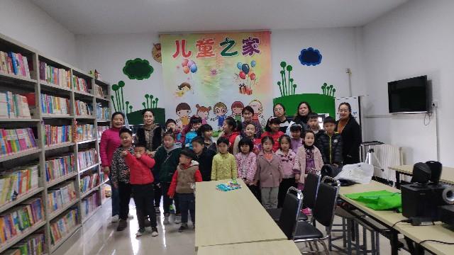 黄岗寺社区党总支组织辖区儿童开展食品卫生安